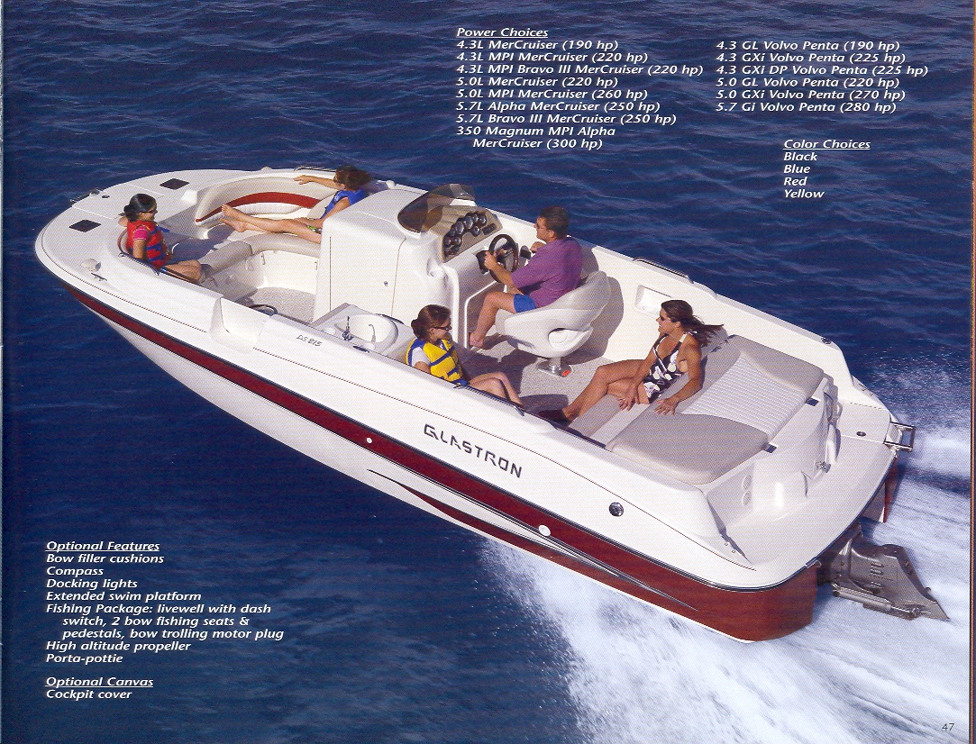 2018 glastron boat catalog parts list product information rh glastron com Glastron Logo Old Glastron Boats